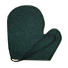 green mitt with a black lanyard