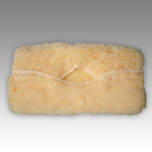 yellow sheepskin sponge