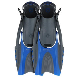 Blue and Black fins