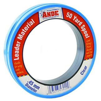 Small circular packaging made of blue plastic with red and white Ande label.