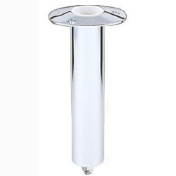 0 degree stainless steel rod holder with swivel base.