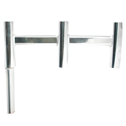 Triple offset rod holder