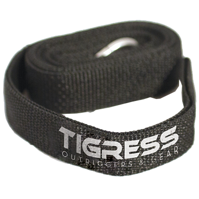 Black strap with logo
