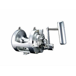 All silver conventional reel