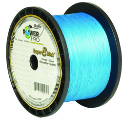 Braided Fishing Line Blue