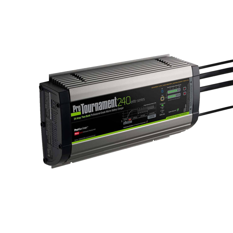 Green, grey and black battery charger