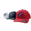 Red, Navy, and White hats