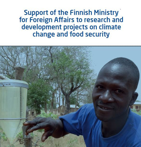 Support of the Finnish Ministry for Foreign Affairs to research and development projects on climate change and food security