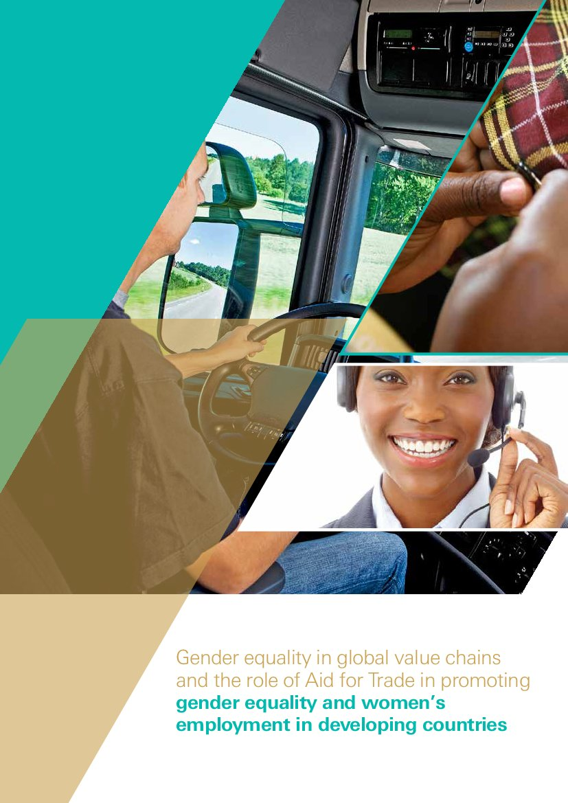 Gender equality in global value chains