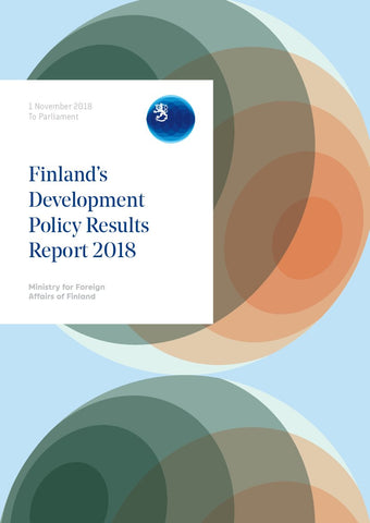 Finland's Development Policy Report 2018