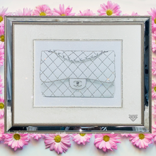Load image into Gallery viewer, Chanel Bag Diamond Crystal Wall Art