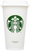 Load image into Gallery viewer, Pearl Starbucks 16oz Reusable Tumbler