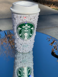 Pearl Starbucks 16oz Reusable Tumbler