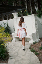 Stella Cotton Tiered Mini Dress