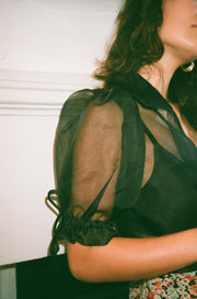 Philomena Silk Organza Blouse