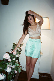 Poppy Silk Shorts