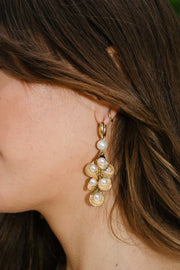 Waterfall Open Shell Earrings