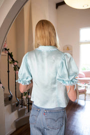 Philomena Silk Poet Blouse