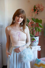 Willow Knit Ribbon Top