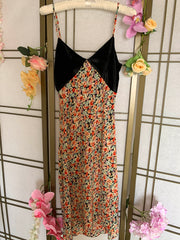 Raquel Printed Floral Slip Dress