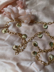 Carrie Shell Charm Belt
