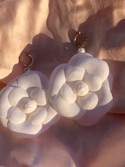 Lolita Gardenia Flora Earrings: Large