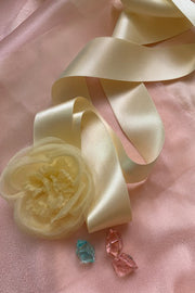 Cally Flora Ribbon Tie