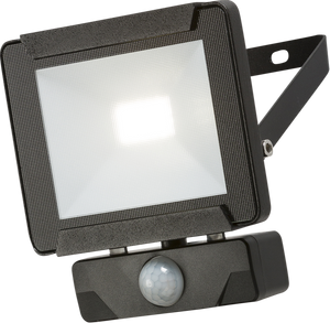 230V IP65 10W LED Floodlight with PIR sensor 4000K