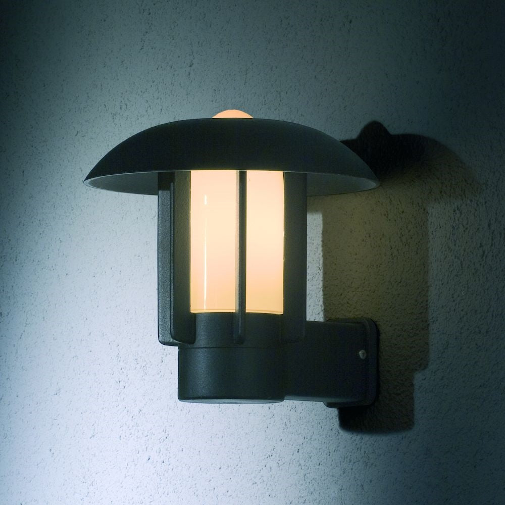 Heimdal Matt Black Wall Light