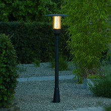 Load image into Gallery viewer, Nova Matt Black Pathway Light 405-750