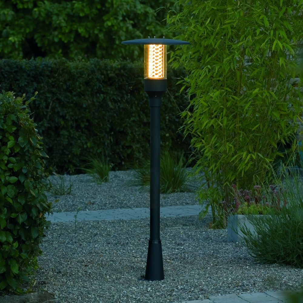 Nova Matt Black Pathway Light 405-750