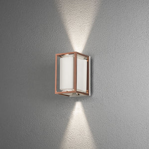 Vale Wall Light White/Copper 424-259