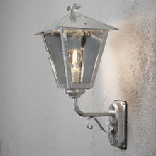 Load image into Gallery viewer, Benu Wall Lamp down Galvanised 435-320