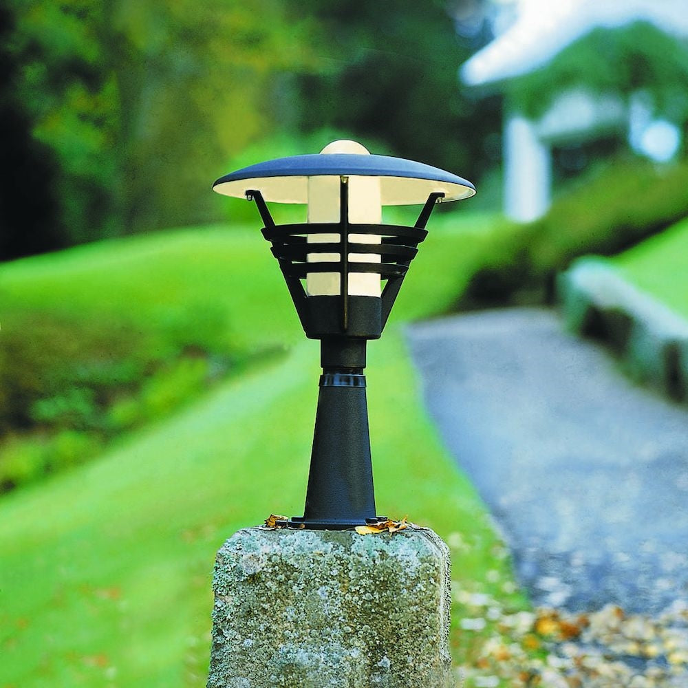 Gemini Post Light Matt Black 502-750