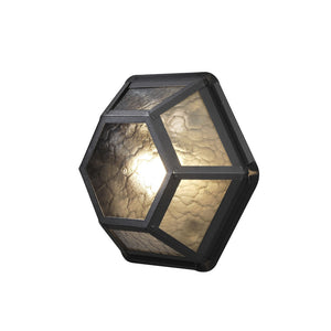 Castor wall lamp black 533-750
