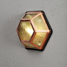 Load image into Gallery viewer, Castor 6 Wall Light Copper Amber 533-900