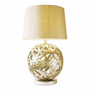 Balthazar Table Lamp complete with Shade Bronze