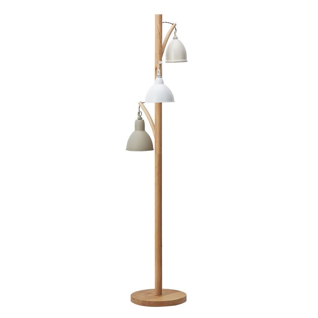 Blyton 3 Light Floor Lamp complete with Painted Shade