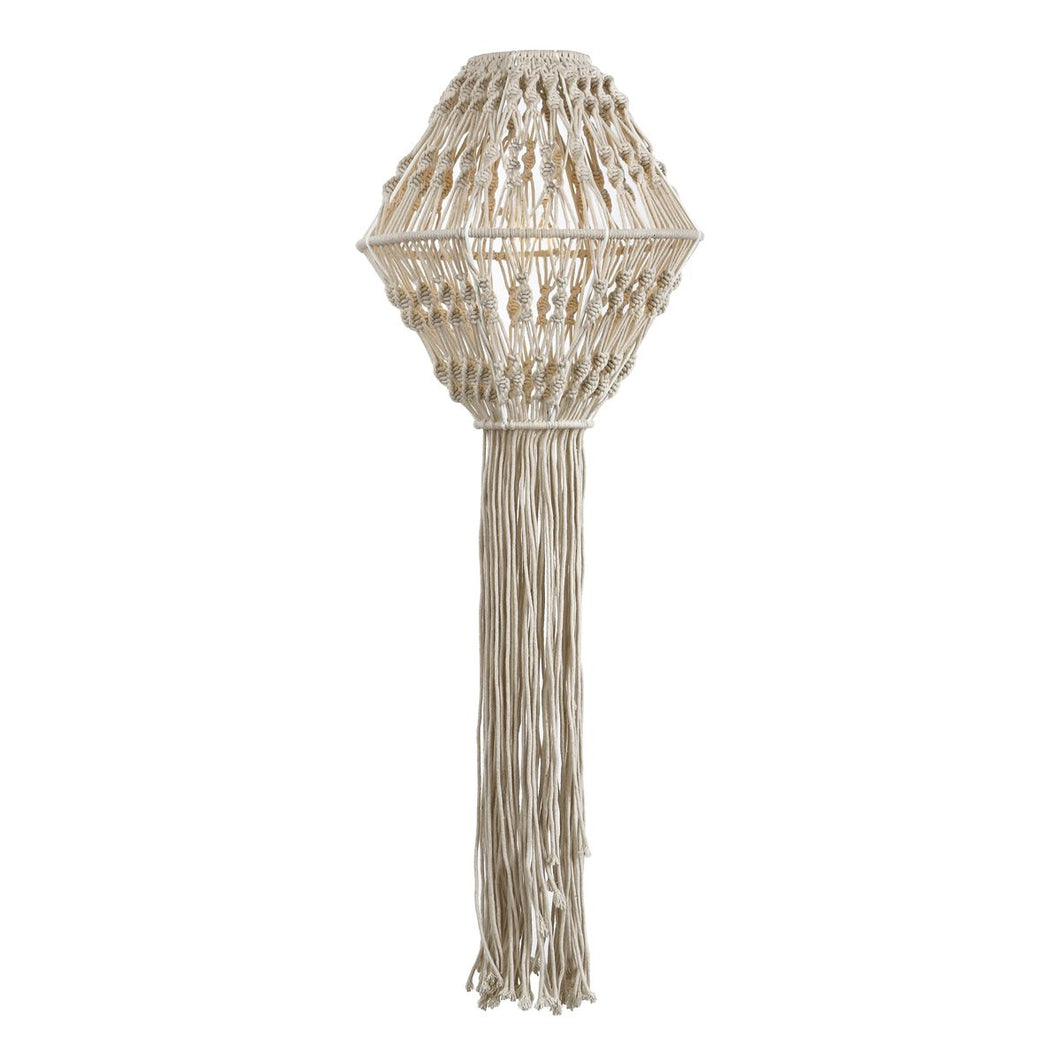 Kaleb Easy Fit Macrame Cream Shade