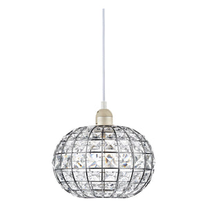 Letitia Crystal Non Elec Polished Chrome