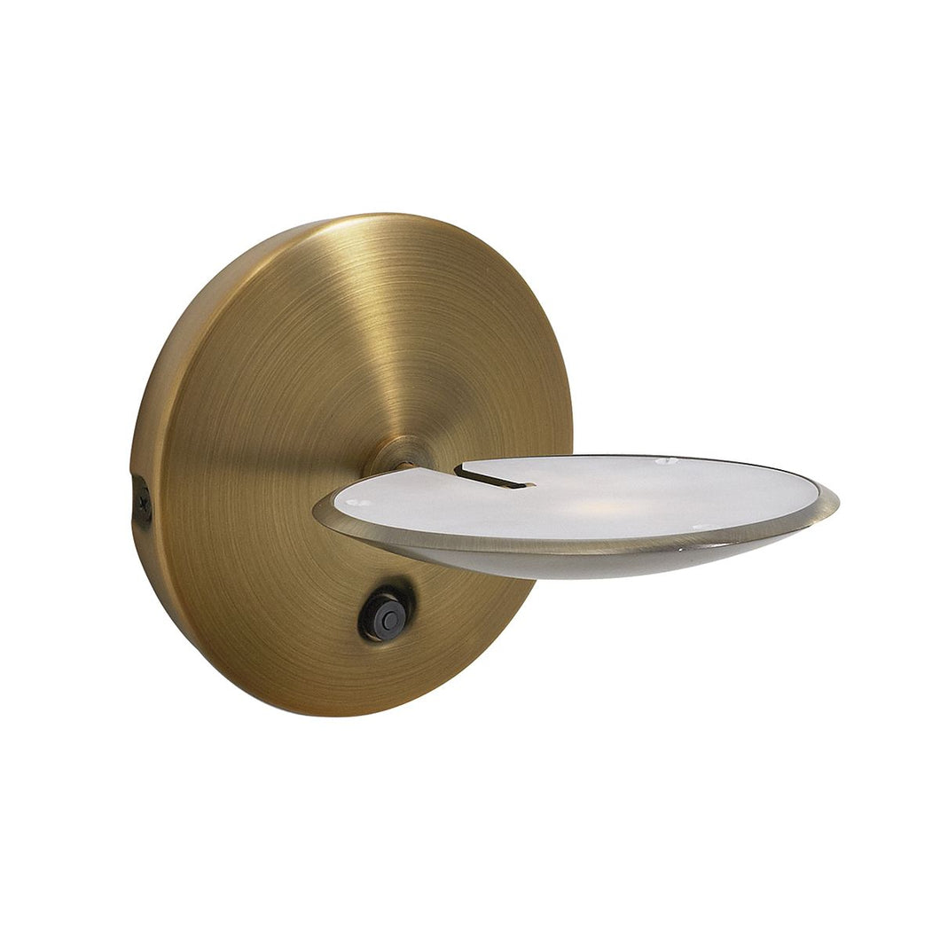 Oundle Wall Bracket Bronze LED