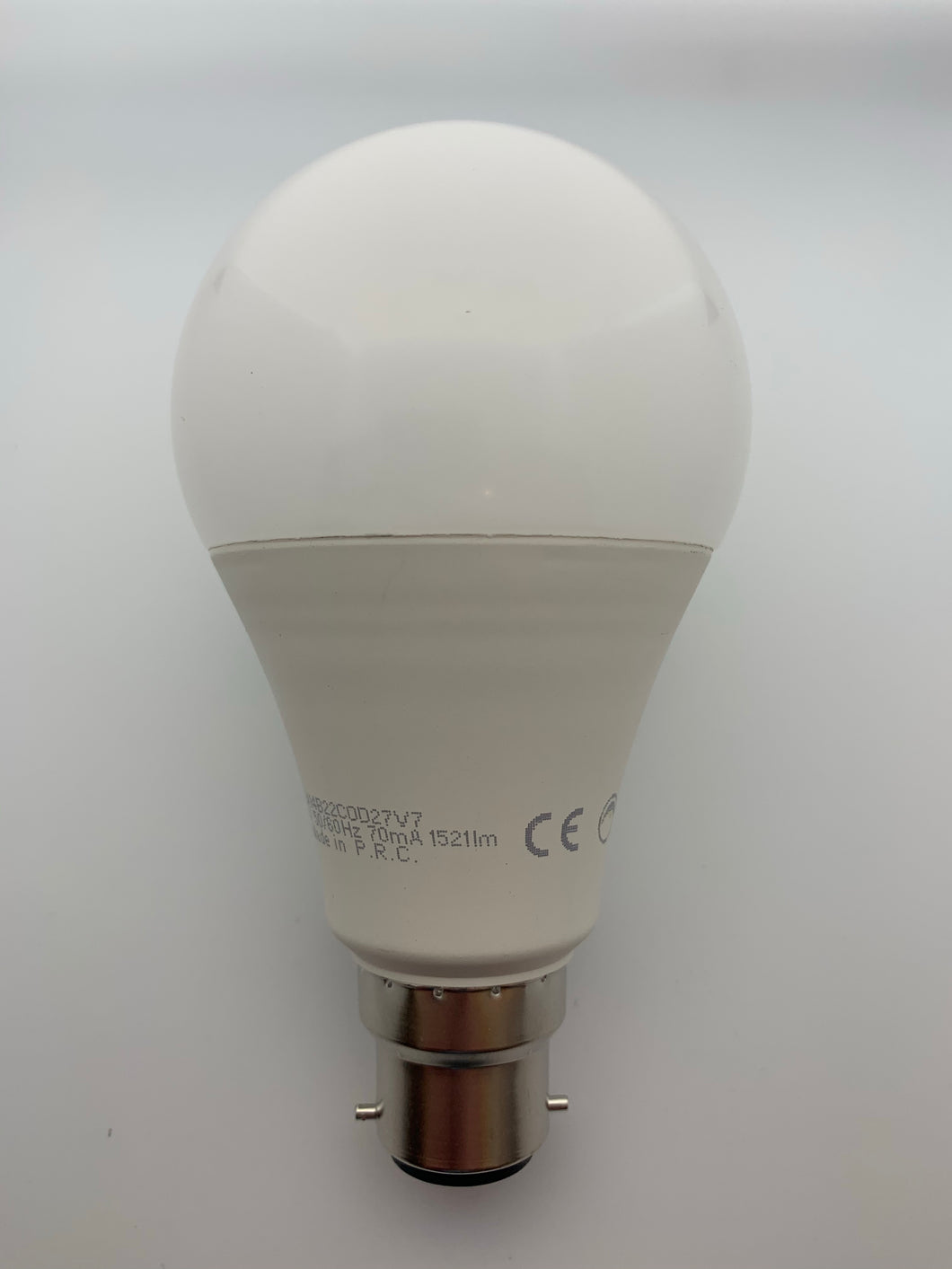 18w BC/B22 Pearl Warmwhite Dimmable