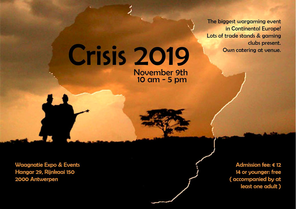 Crisis 2019 - please pre-order now