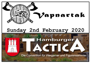Kicking Off the 2020 Show Season - Vapnartak & Tactica