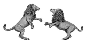 Lions fighting (28mm)