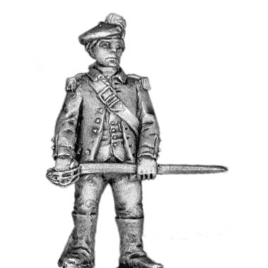 Highlander officer (28mm)