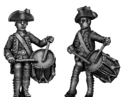 Provincial Regular Infantry Drummer (28mm)