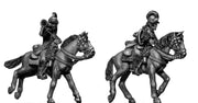 Uniformed Continental Dragoon trumpteter (28mm)