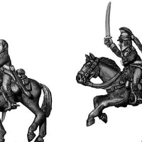Ragged Continental Dragoon officer (28mm)