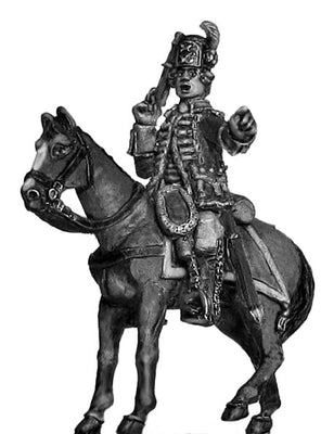 Arquebusiers de Grassin 1744-49 officer (28mm)
